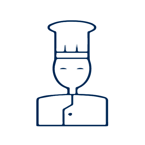 Chef Line Art Icon